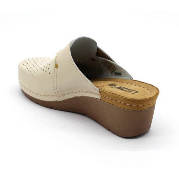 Leon Comfort női papucs - 1001 Bezs