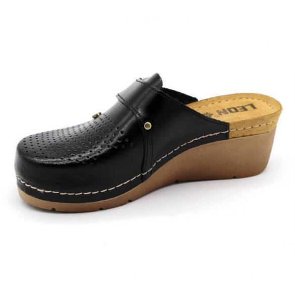 Leon Comfort női papucs - 1001 Fekete