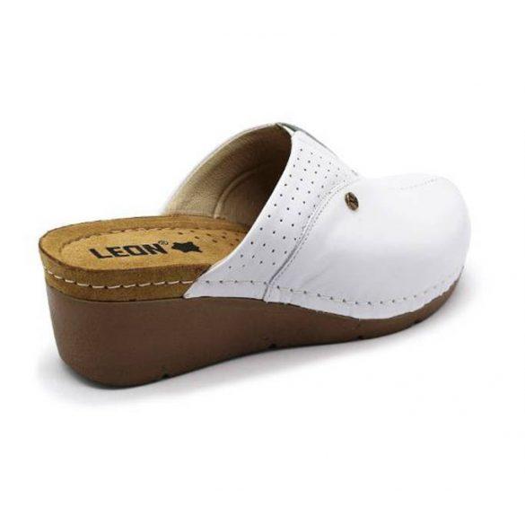 Leon Comfort női papucs - 1002 Feher