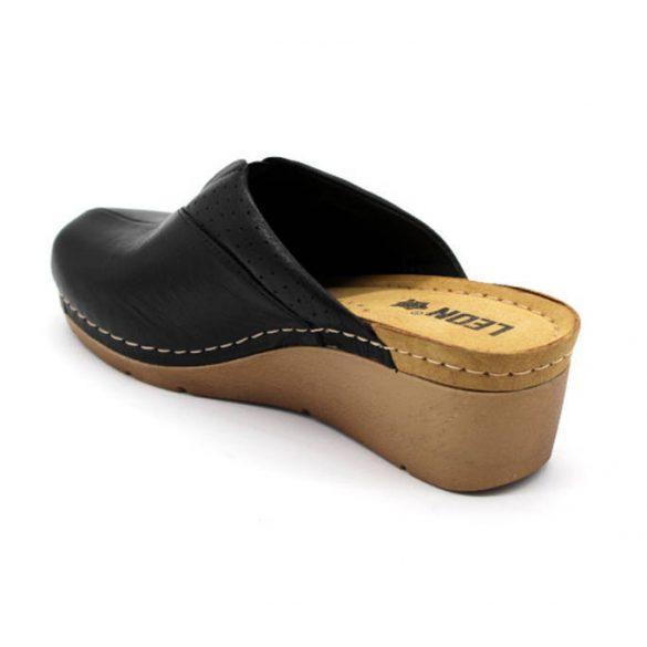 Leon Comfort női papucs - 1002 Fekete