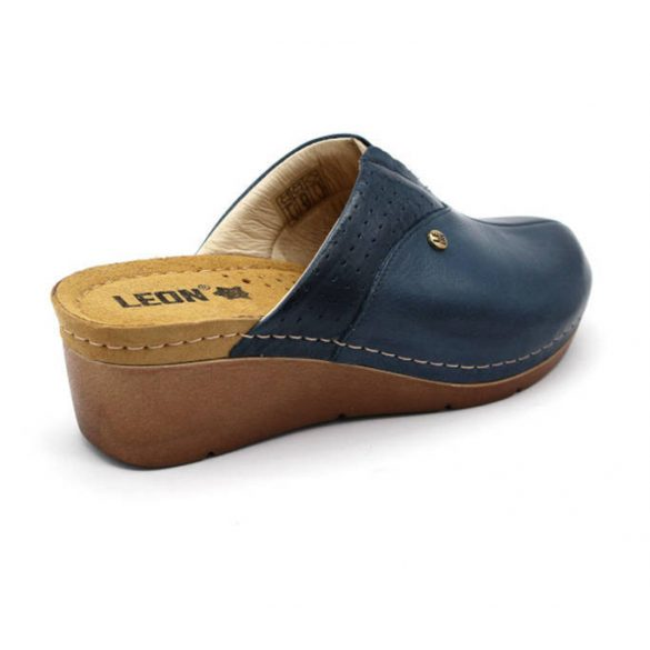 Leon Comfort női papucs - 1002 Kek