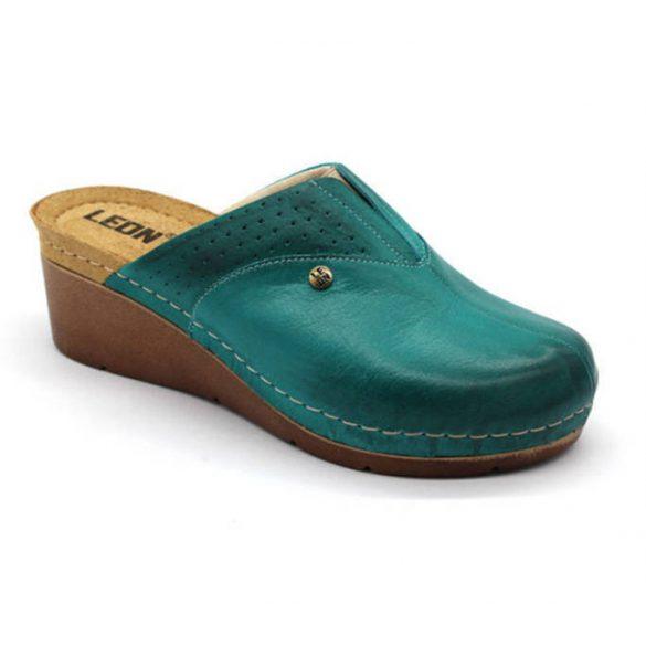 Leon Comfort női papucs - 1002 Turkiz