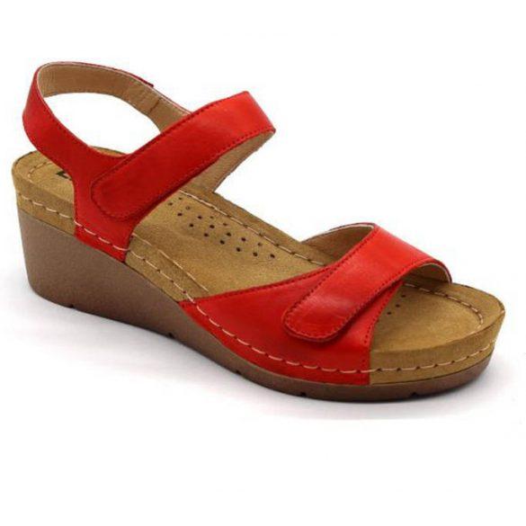 Leon Comfort női szandál - 1041 Piros