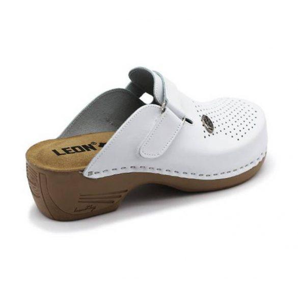 Leon Comfort női papucs - 159 Feher