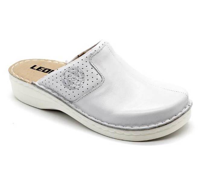 1b639733f38d Leon Comfort női papucs - 360 Feher - Shoestyle webáruház