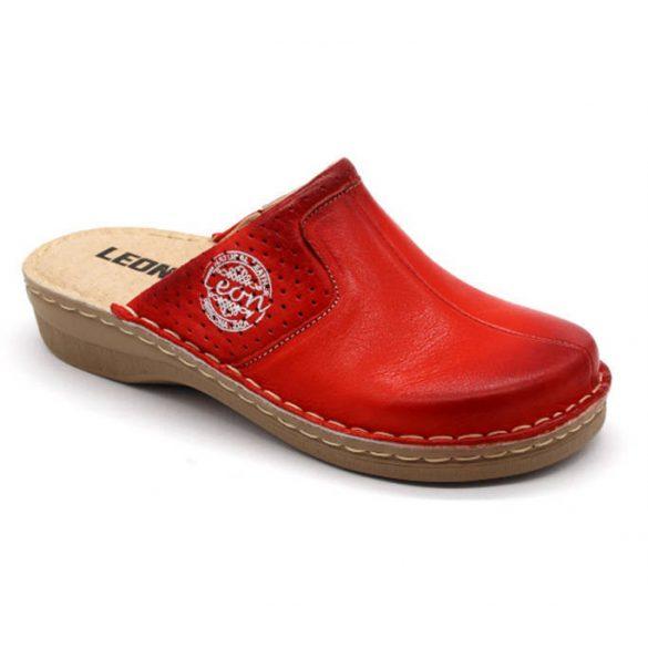 Leon Comfort női papucs - 360 Piros