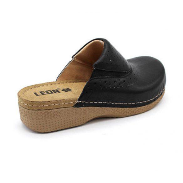 Leon Comfort női papucs - 400 Fekete