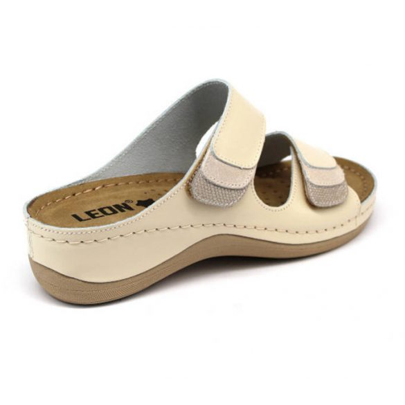 Leon Comfort női papucs - 904 Bezs