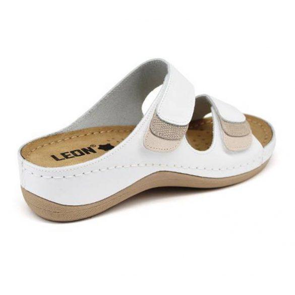 Leon Comfort női papucs - 904 Feher