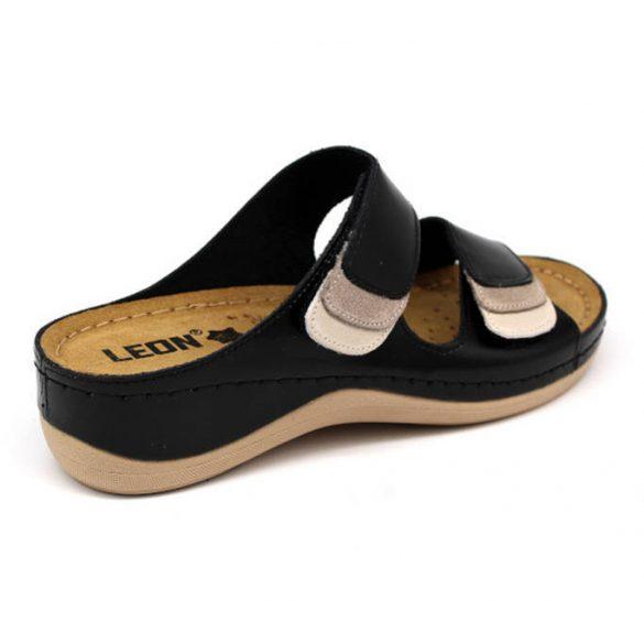 Leon Comfort női papucs - 904 Fekete