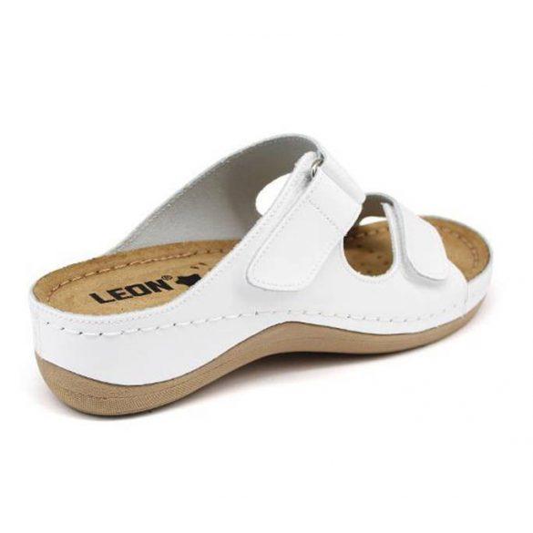 Leon Comfort női papucs - 905 Feher