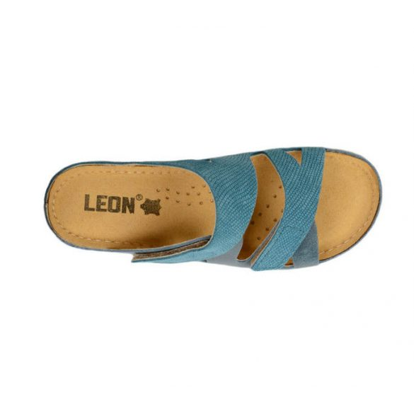 Leon Comfort női papucs - 907 Kek