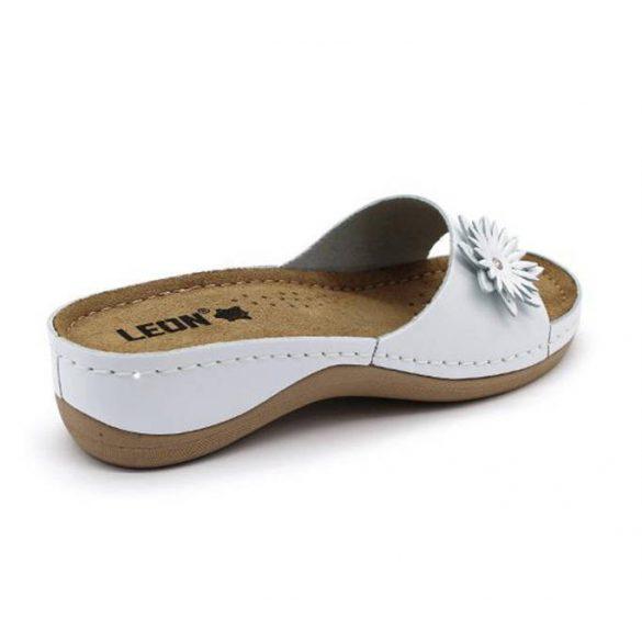 Leon Comfort női papucs - 915 Feher