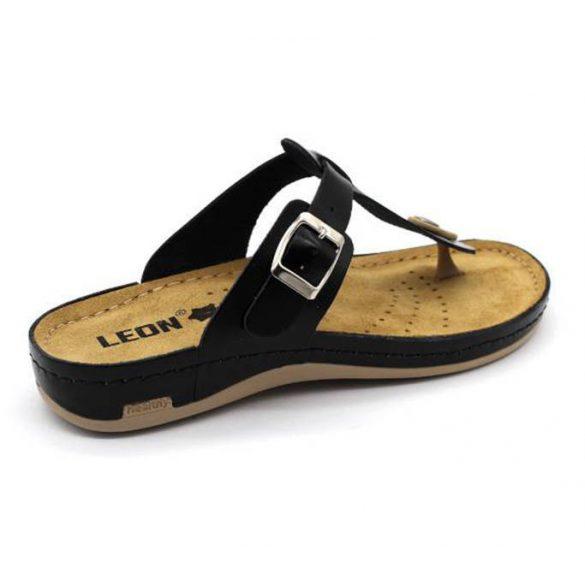 Leon Comfort női papucs - 980 Fekete