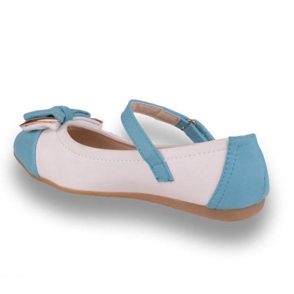 60-70%-os kiárusítás gyerek cipő - A9489 feher-kek