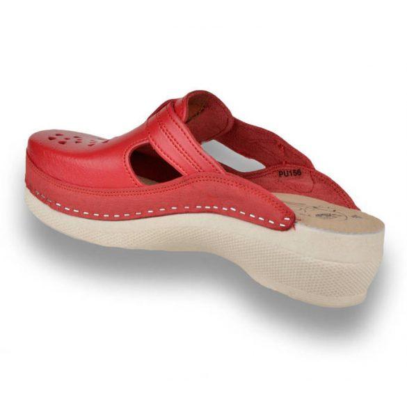 Leon Comfort női papucs - Pu156 Piros