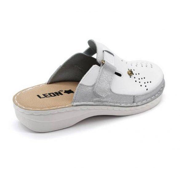 Leon Comfort női papucs - V261 Feher